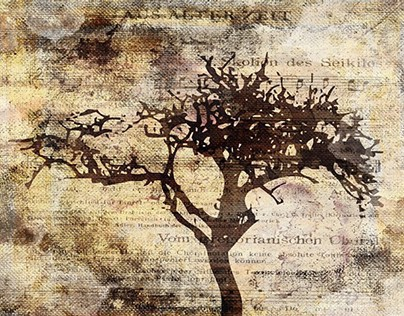 Trees sing of Time - Vintage Artworks Collection