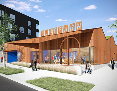 Bluebarn Theatre and Boxcar 10