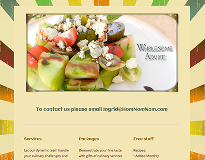 HomNomNom.com Website