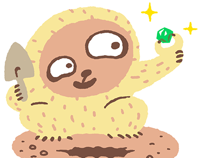 Illustration / Sloth Collection