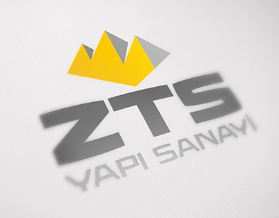 ZTS Yapı Sanayi Logo & Identity