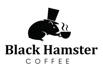Black Hamster Coffee Identity