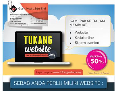 Tukang Website Flyer