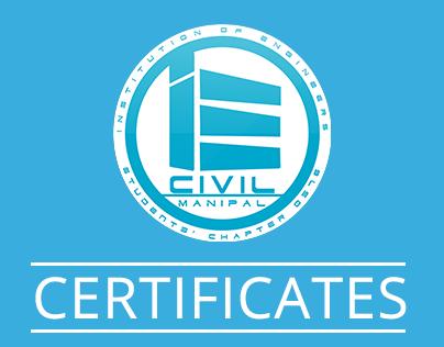 Certificate Designs - I.E. Civil
