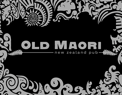 """Old Maori""—New Zealand Sports Pub"