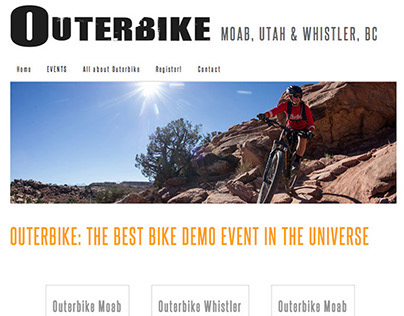 Outerbike Website