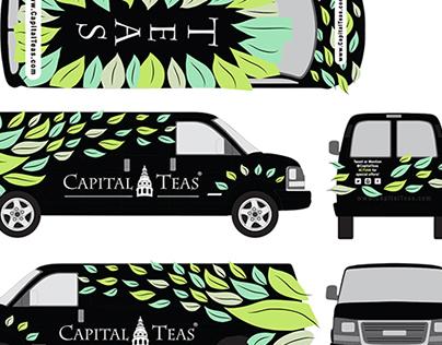 Chevy Van Wrap Design