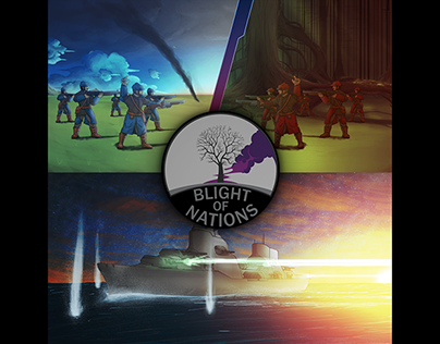 Blight of Nations: Diesel Punk Turn-Based Strategy game