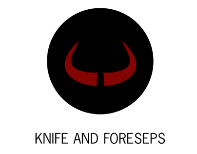 Knife and Forceps