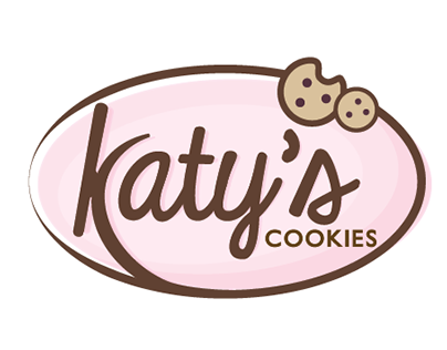 Katy's Cookies Logo + Website