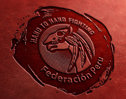 Logo for Hand to Hand fighting federation in Peru