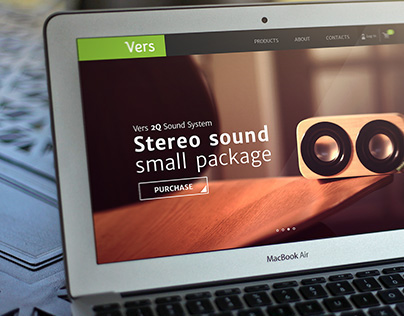 Vers Audio - Website