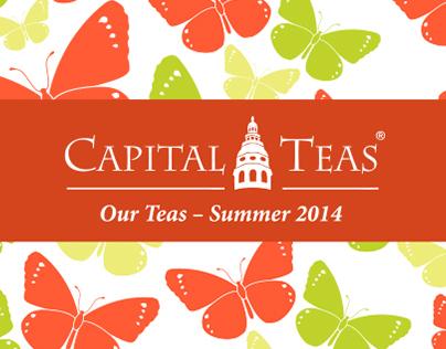 Capital Teas Catalog: Summer 2014