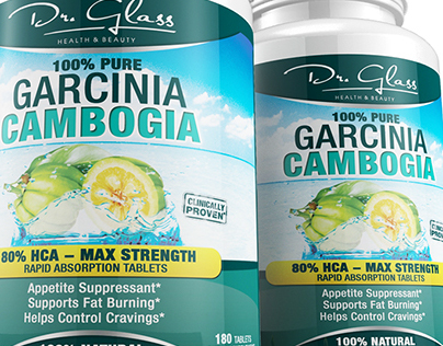 Garcinia Cambogia Label Design