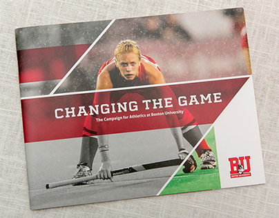 Boston University Athletics Campaign Brochure