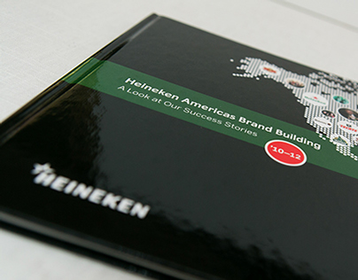 Heineken Coffee Table Brand Book
