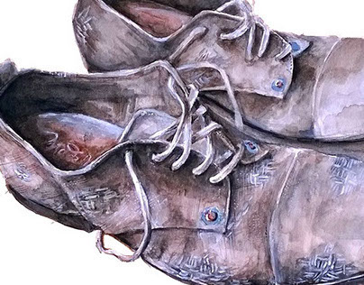 Watercolor Clothing Paintings