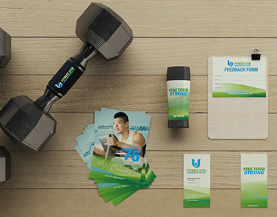 Interior Design Jobs Calgary Alberta Fitness Gym Branding Mockups On Behance