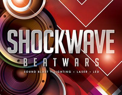 Shockwave Party Flyer