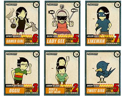 Meet the Netizens Card Layout