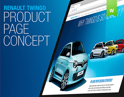 Twingo Product page concept