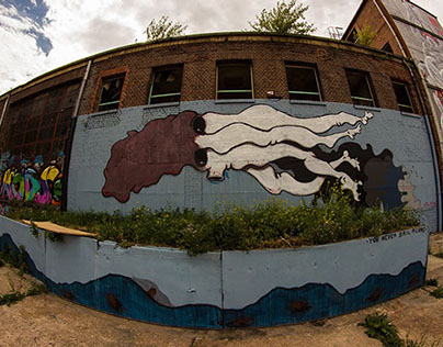 'You Never Sail Alone' by ZiD Visions @AerosolArena '14