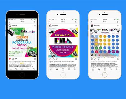Design Instagram posts for FILA 2016
