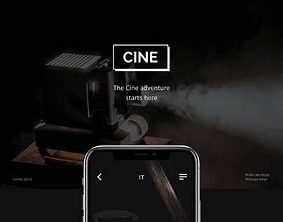 The Cine app.