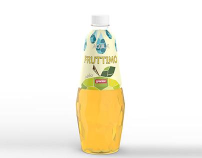 JINÁ – grafické zpracování etikety lahve