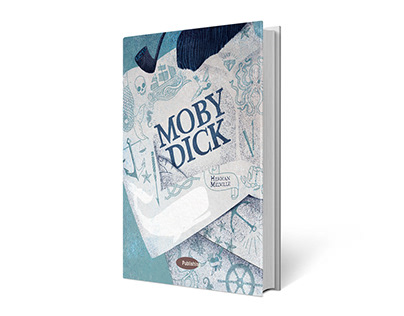 Self Promotion. Cover of Moby Dick by H. M.