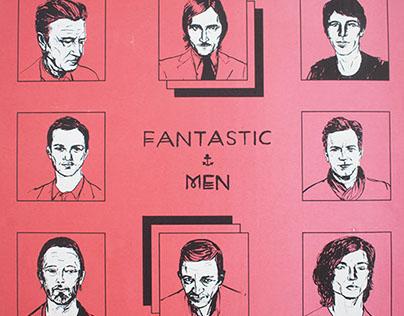 Fantastic Men silkscreen print