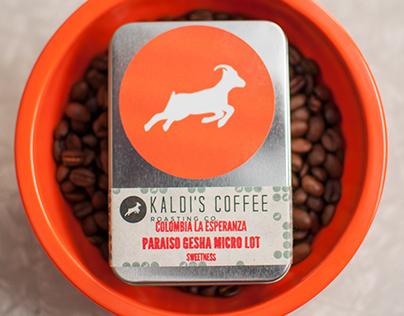 Product shots - Kaldi's Coffee