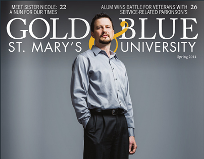 St. Mary's University Gold & Blue | Spring 2014