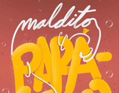 Typography postcards