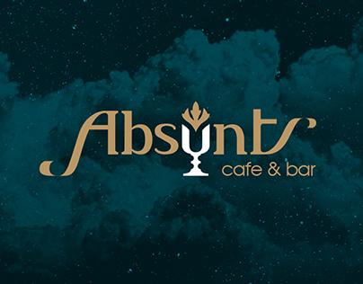 Absynt cafe & bar - corporate identity
