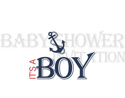 Baby Shower Invitation | It's A Boy!