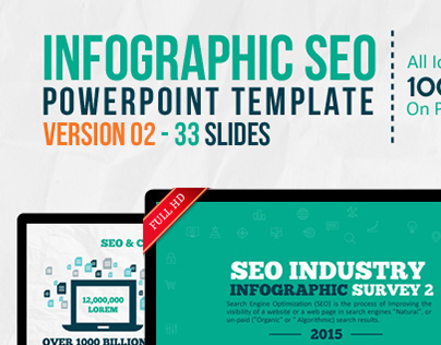 Infographic seo keynote template