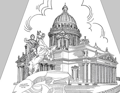Peterburg illustration