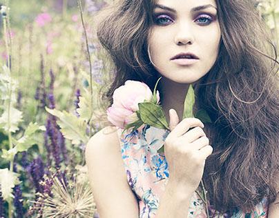 Secret Garden Beauty Shoot