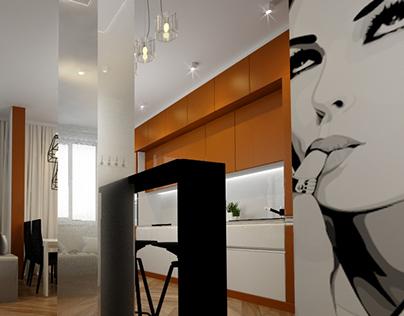 Квартира в Москве.