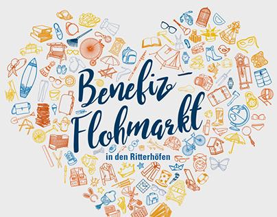 idealo Charity Flea Market Poster