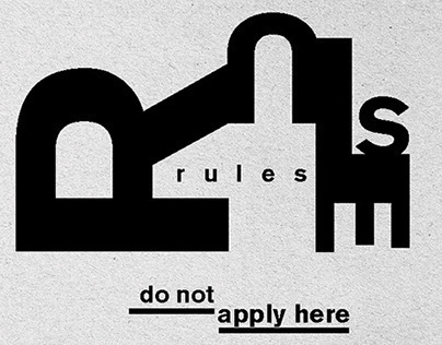 Typography poster - Wolfgang Weingart