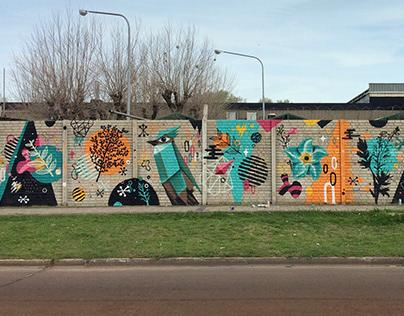 Mural for Guedikian Press