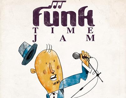 FUNK TIME JAM. Radiocity Weekly Posters