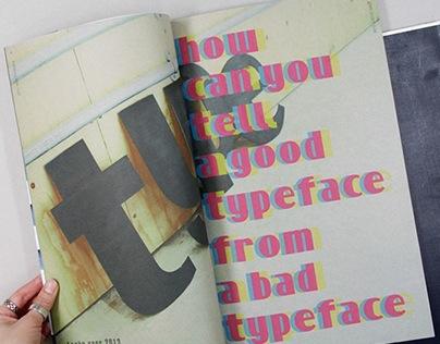 Locho magazine_play with type
