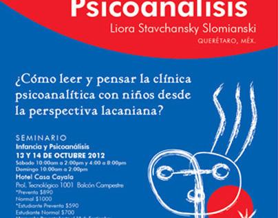 Infancia y Psicoanálisis poster