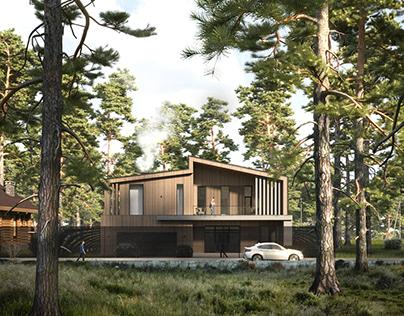 CGI: Among the pines