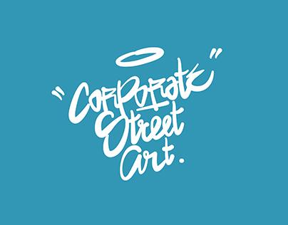 "Masterthesis - ""Corporate Street Art"""