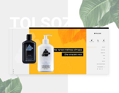 Ecommerce Website Design | Tolsoz