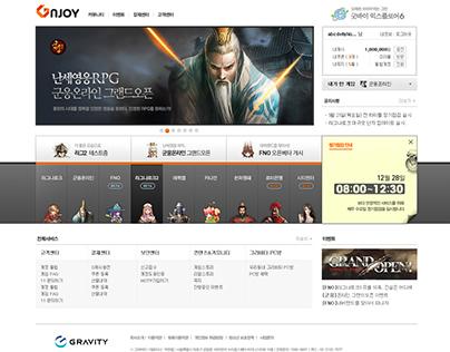 2011 GnJoy Game Portal Main